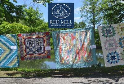 Seasonal tradition of airing out quilts take place at Clinton's Red Mill Museum Village on Sunday, Oct. 4