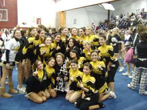 Cedar Grove varsity cheerleaders earn number one spot