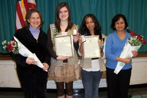 Troop 719 - Warren Girl Scouts earn their Gold Award