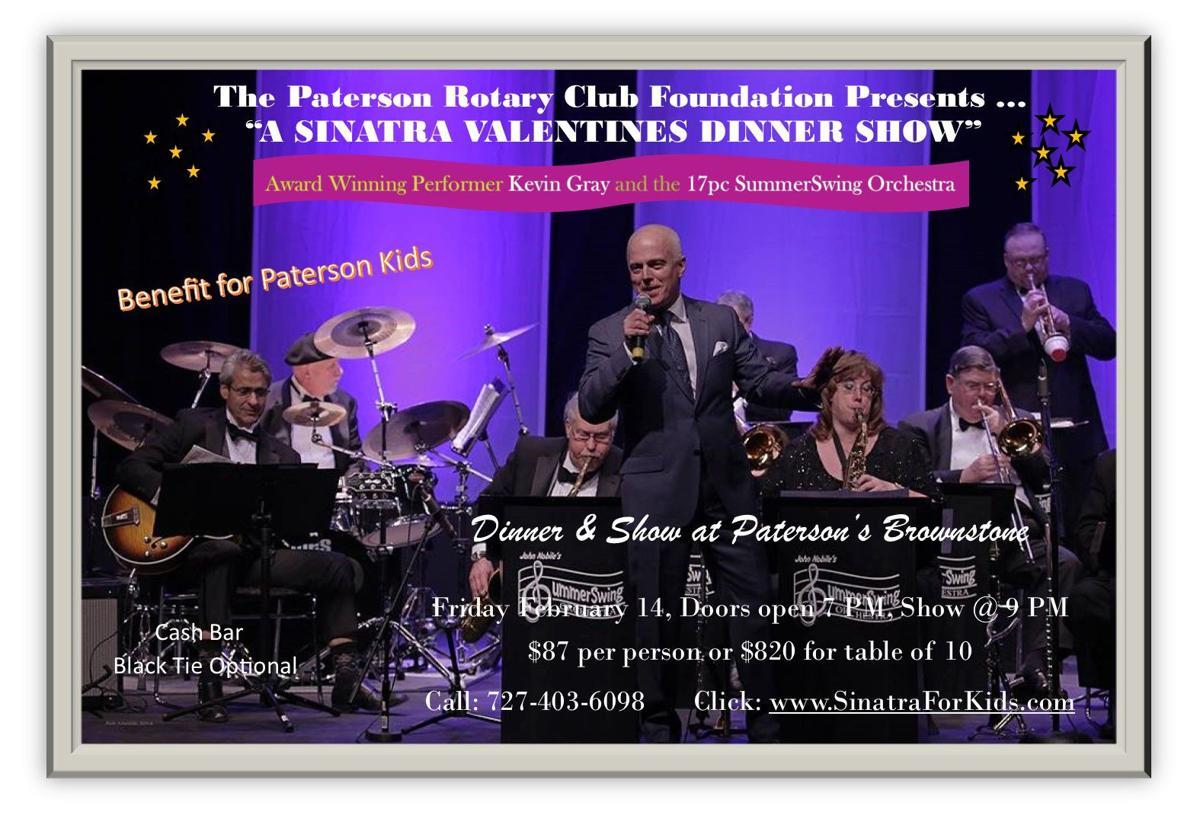 Sinatra Valentine's Day Dinner Show
