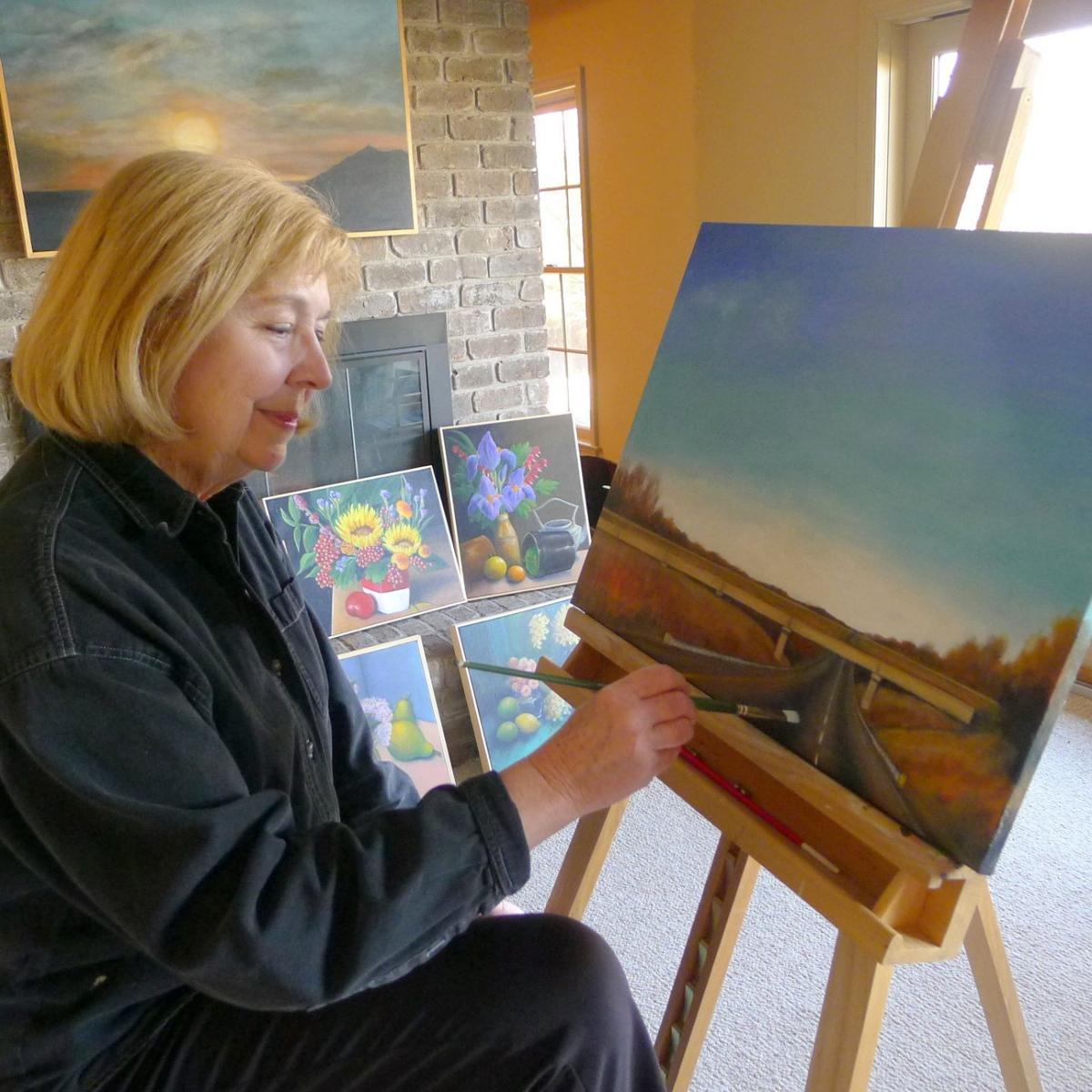 Artist Sally Abbott of Chatham