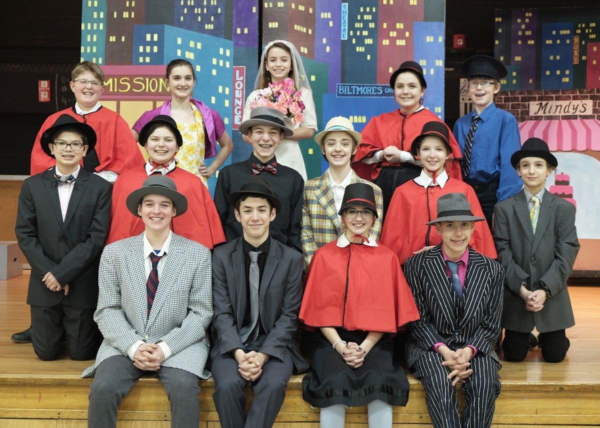 Clinton Public School to present 'Guys & Dolls'