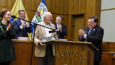4194da996b5 Fuertges is a long-time volunteer who was recognized when the Township  Council reorganized on Tuesday