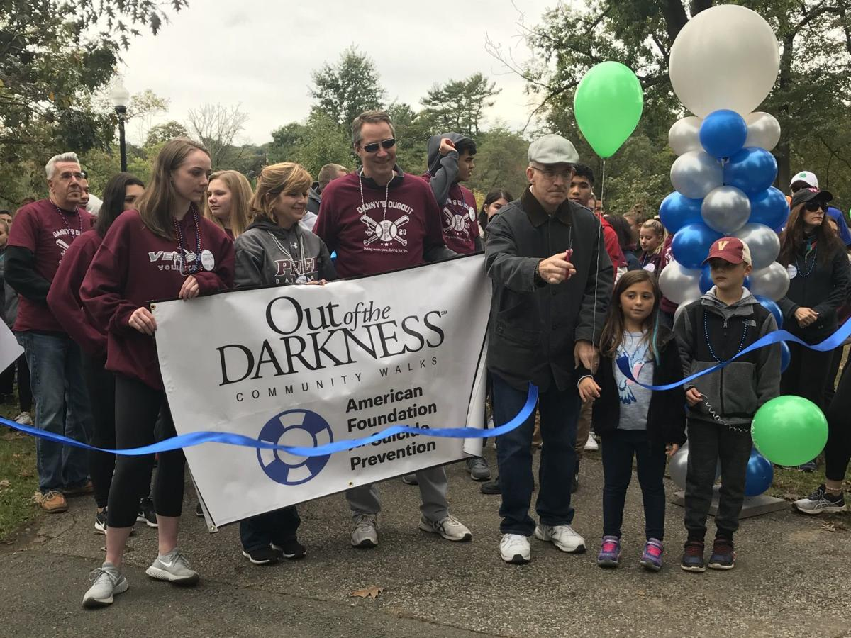 About 770 raise funds to stop suicide at Verona walk