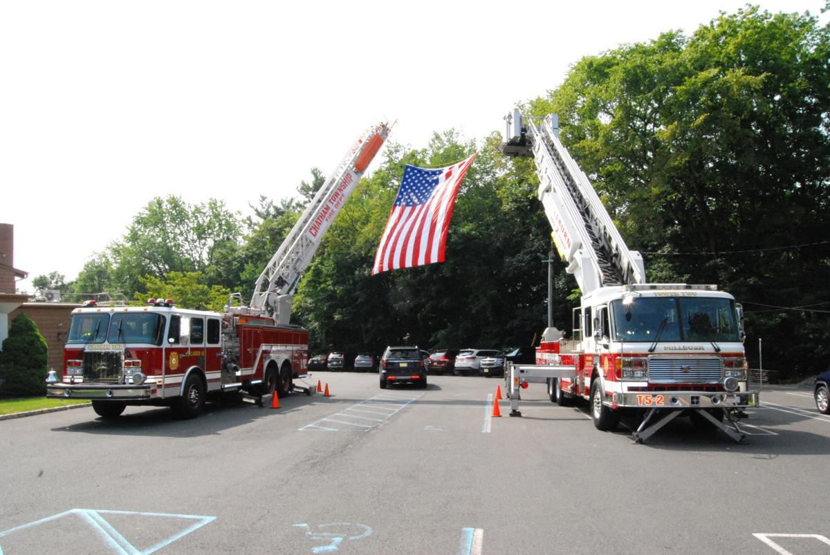 Firefighting companies from Long Hill, surrounding towns pay tribute to Aroneo
