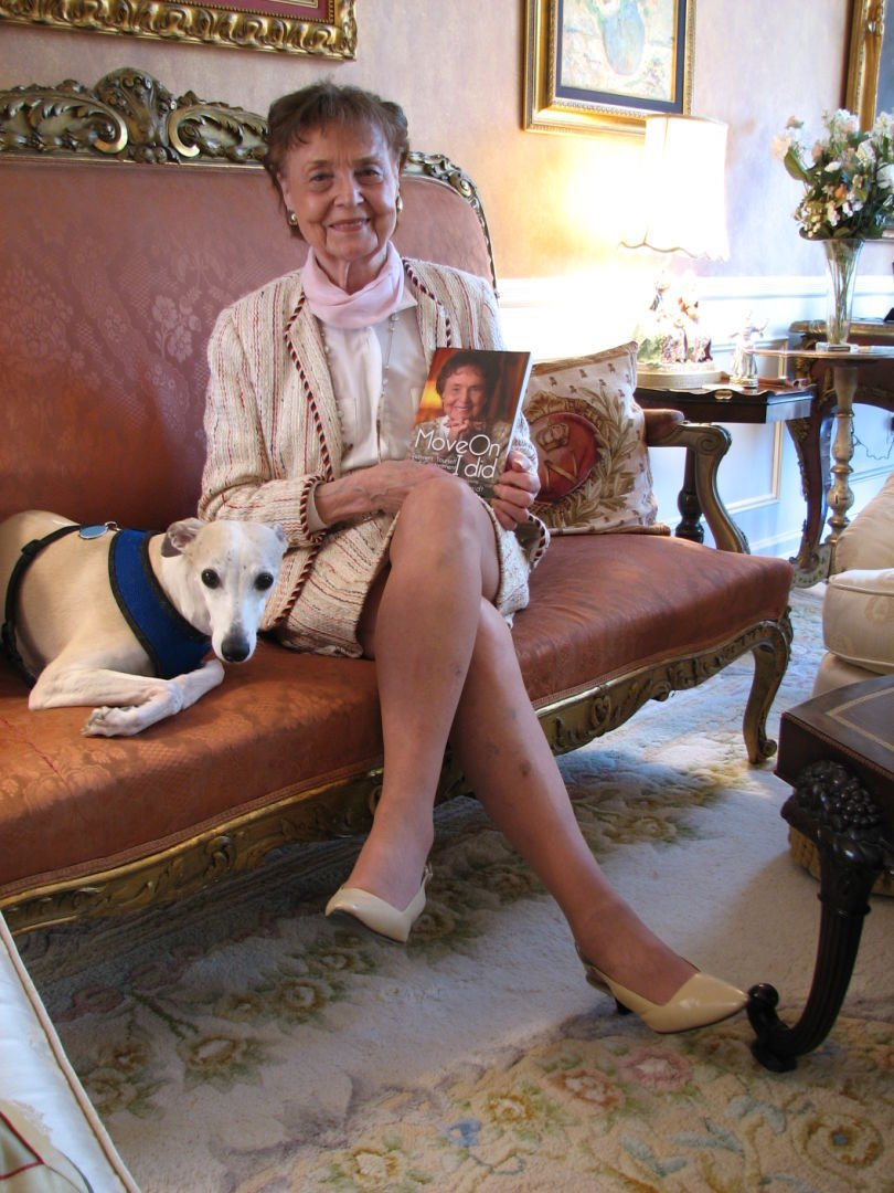 93-year-old author inspires readers to keep moving on