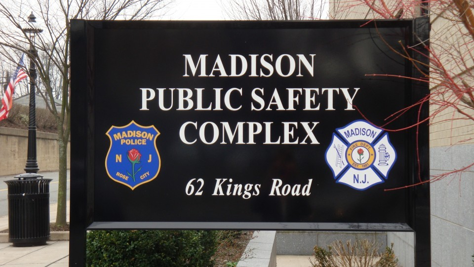 Madison Public Safety Complex sign