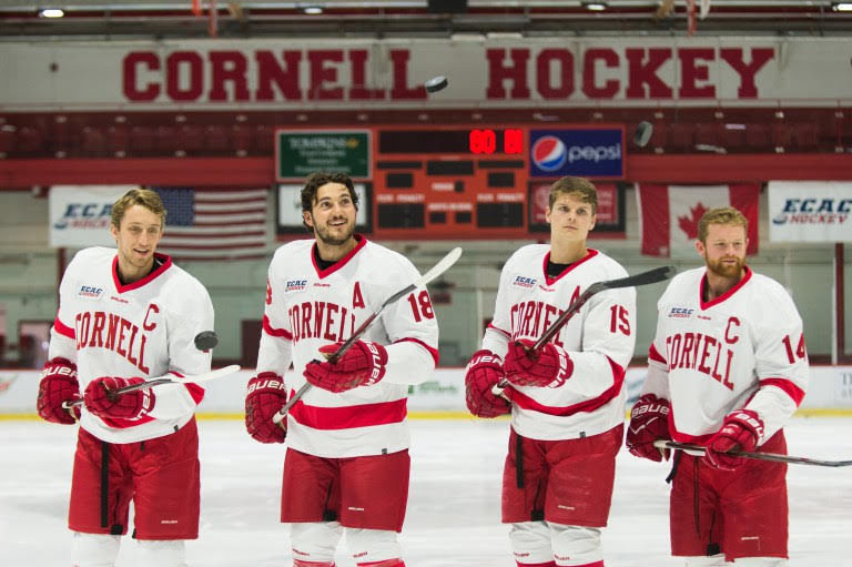 Rauter and teammates