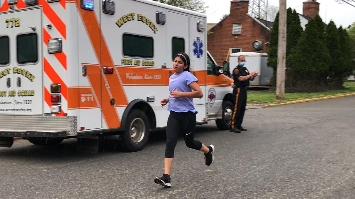 (VIDEO) North Caldwell girl runs 100 miles to raise funds for first-responders, others