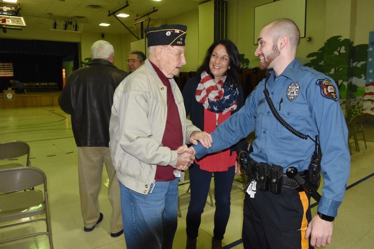 Millington School Honors Veterans