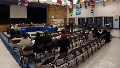 Eighth Grade Student Council President provides report to Watchung school board