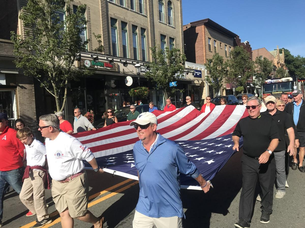 Madison marches to remember on 20th anniversary of 9/11