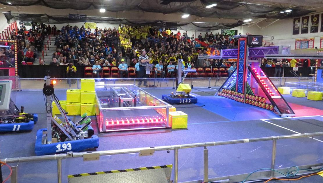 Mount Olive shines at Mid-Atlantic District robotics competition