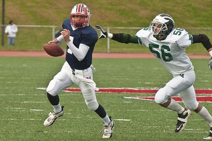 Mustangs lose late lead, fall Chierici's heroics go for naught as Mendham stuns Montville