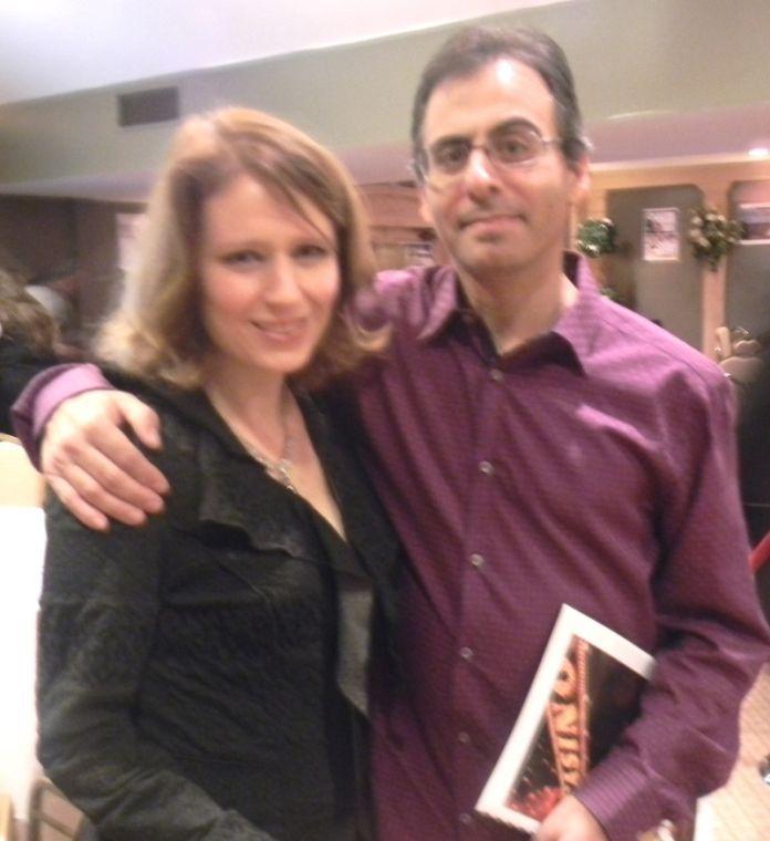 Warren K-8 Board of Education member Kathy Helewa with her husband Kevin