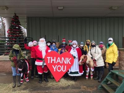 LSS Volunteers Collect Toys for Tots