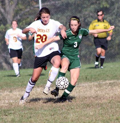 Voorhees girls volleyball plays well in loss