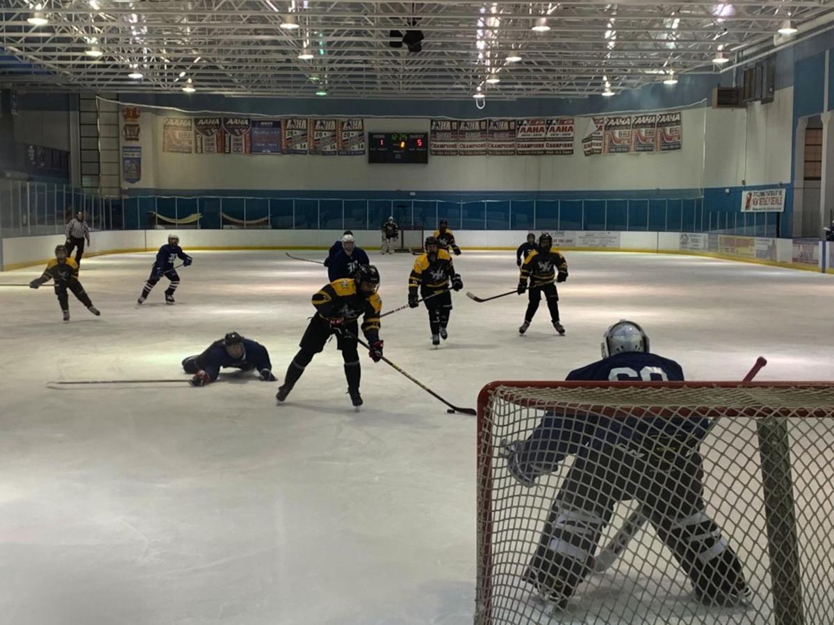 Jr. Warriors hockey