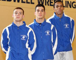 Chiefs wrestling team is young but capable