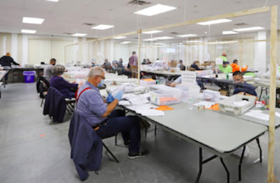 Somerset County begins ballot count for general election