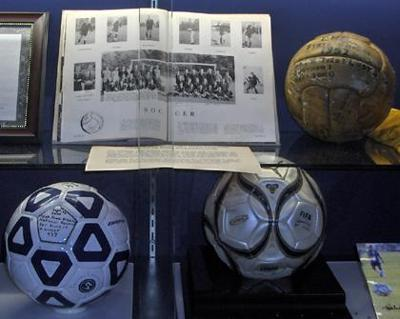 1952 soccer ball belongs to the ages