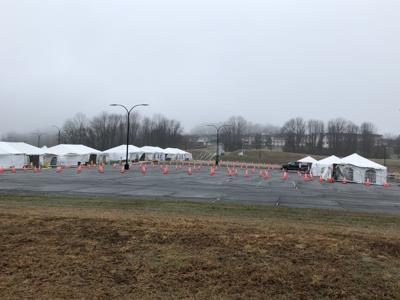 Tents ready