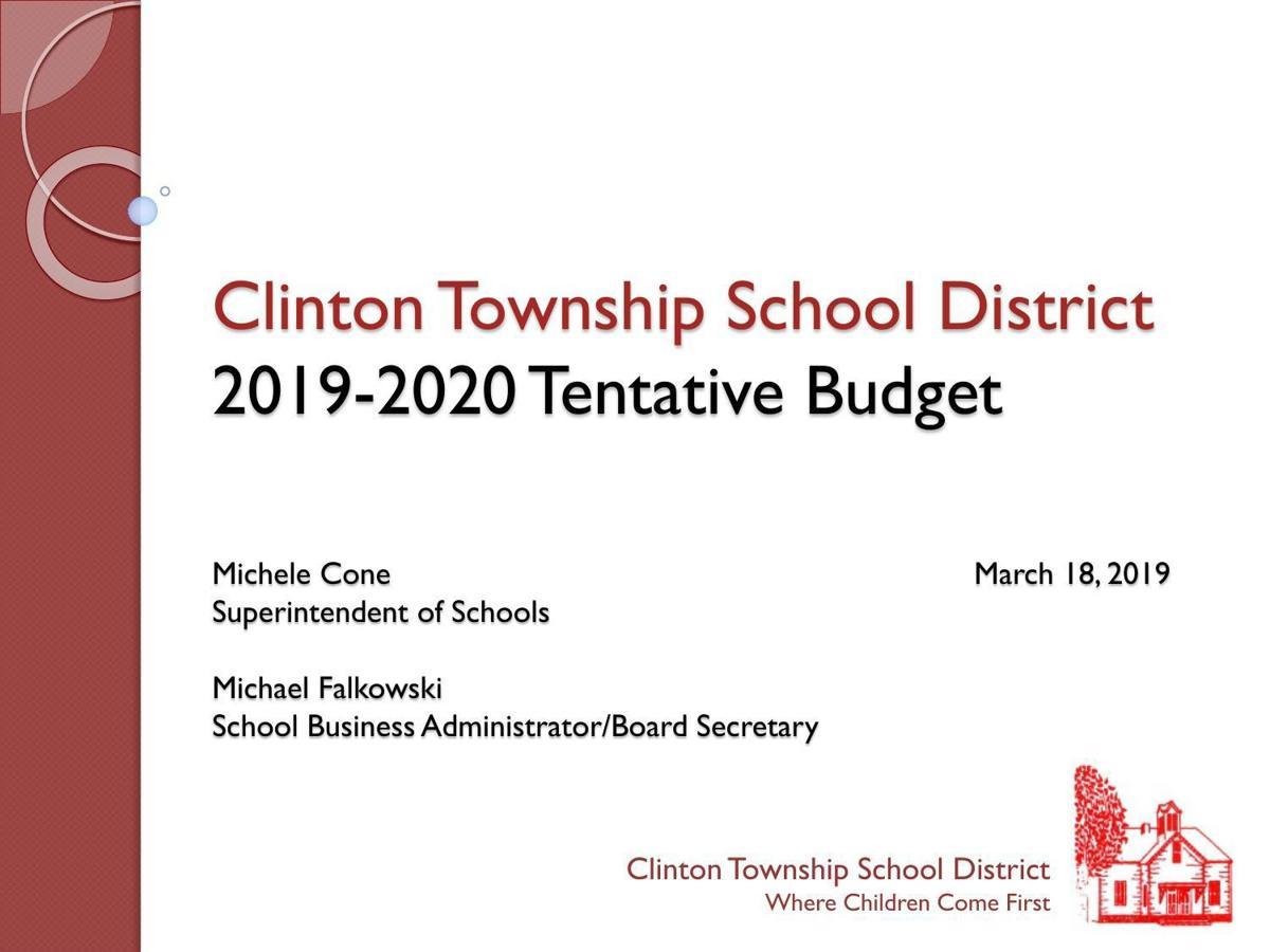 Clinton Township Board of Education 2019-202 Preliminary Budget