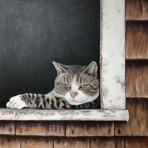 Barn Cat_Martine Marie