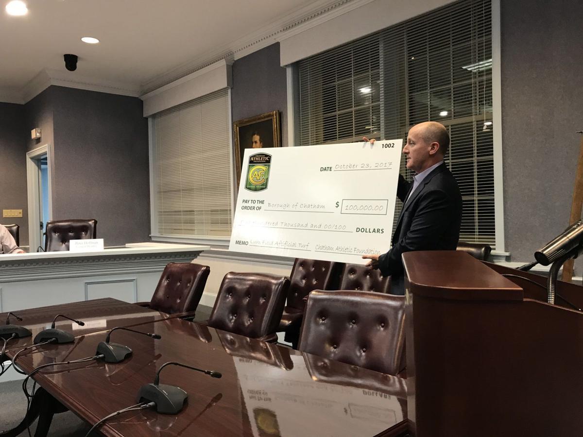 $100,000 donation
