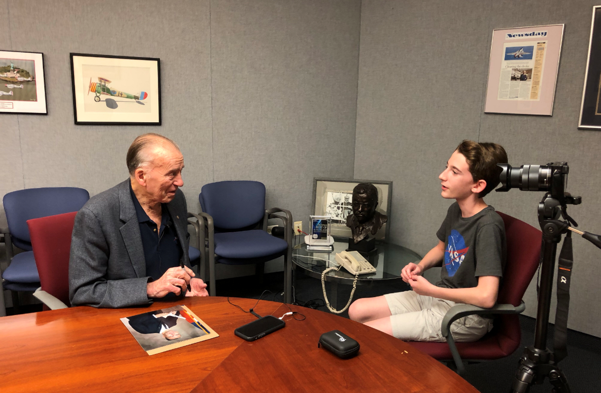 Interviewing Cunningham