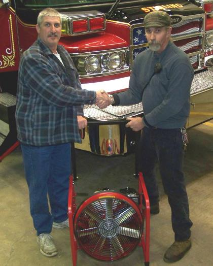 Stirling Fire Company receives anonymous gift