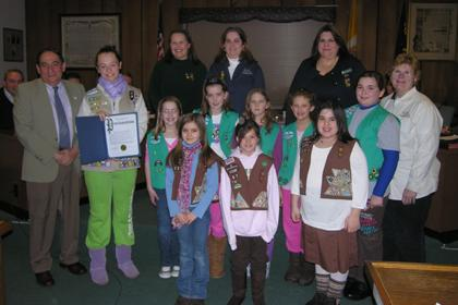 Here's To Girl Scouts!