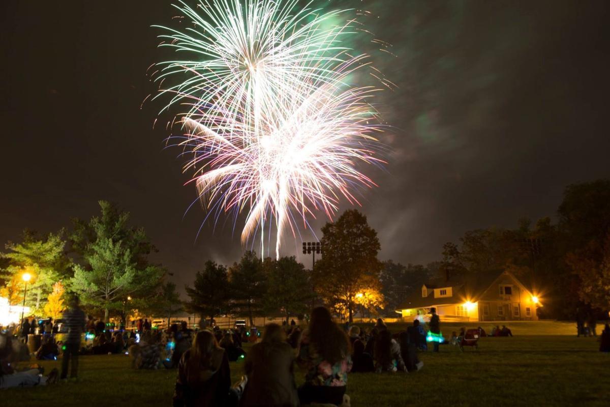Fireworks at Drew University