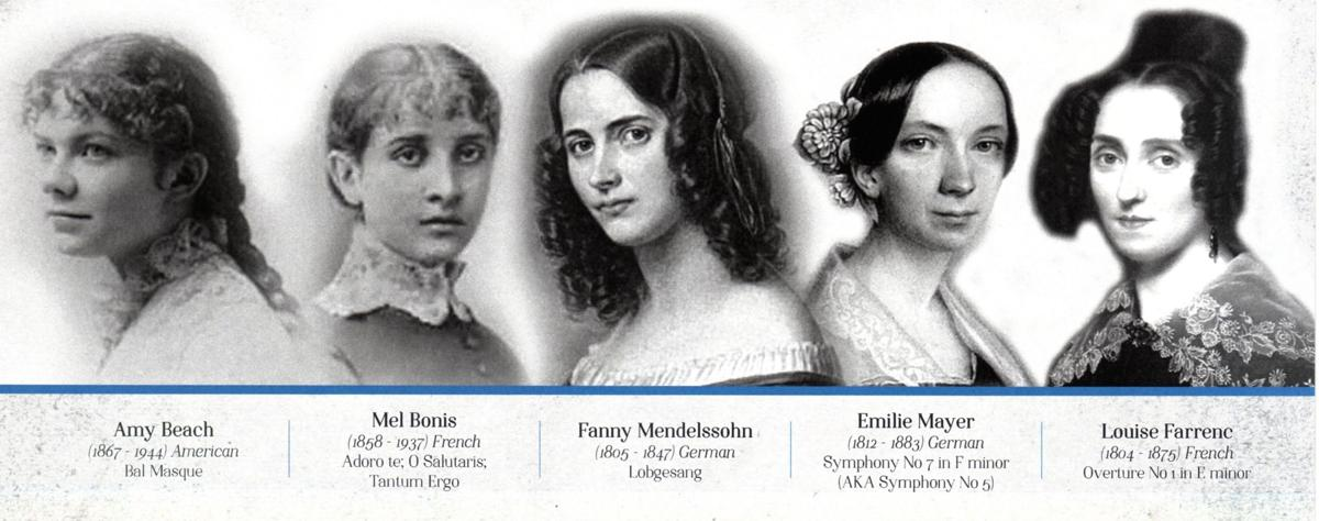 Hunterdon Symphony to present music by women composers on Saturday, April 13, at Hunterdon Central