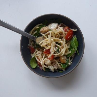 Spaghetti  With Hake