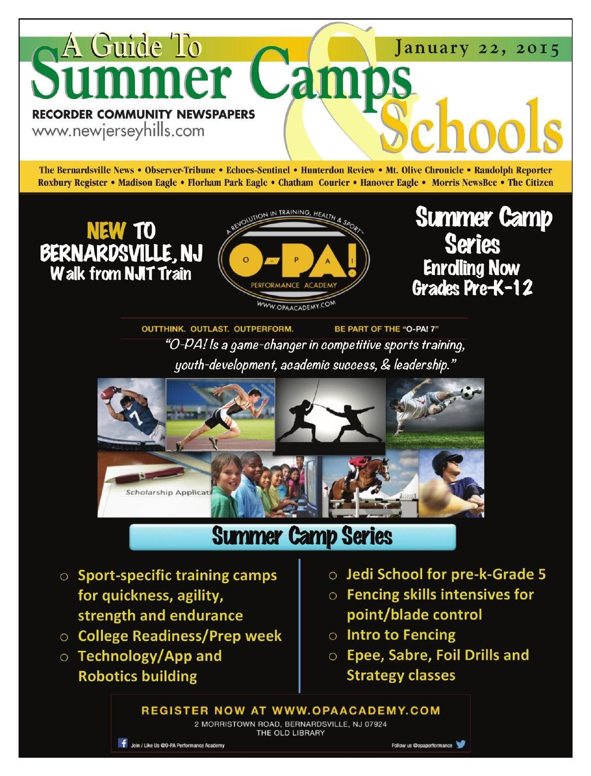 Summer Camp and School Guide