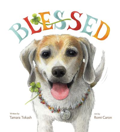 'BLESSED' book cover