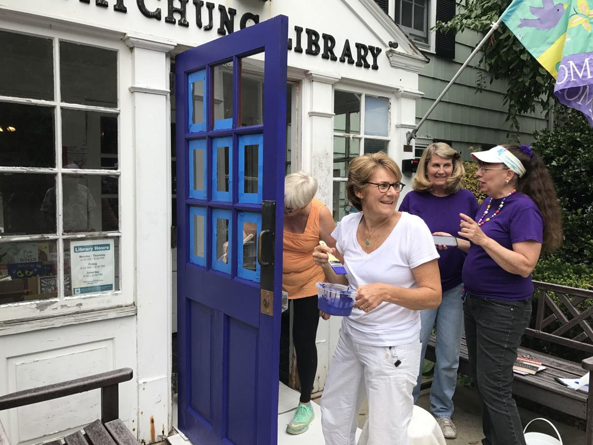 Watchung Library advocates paint for a purpose