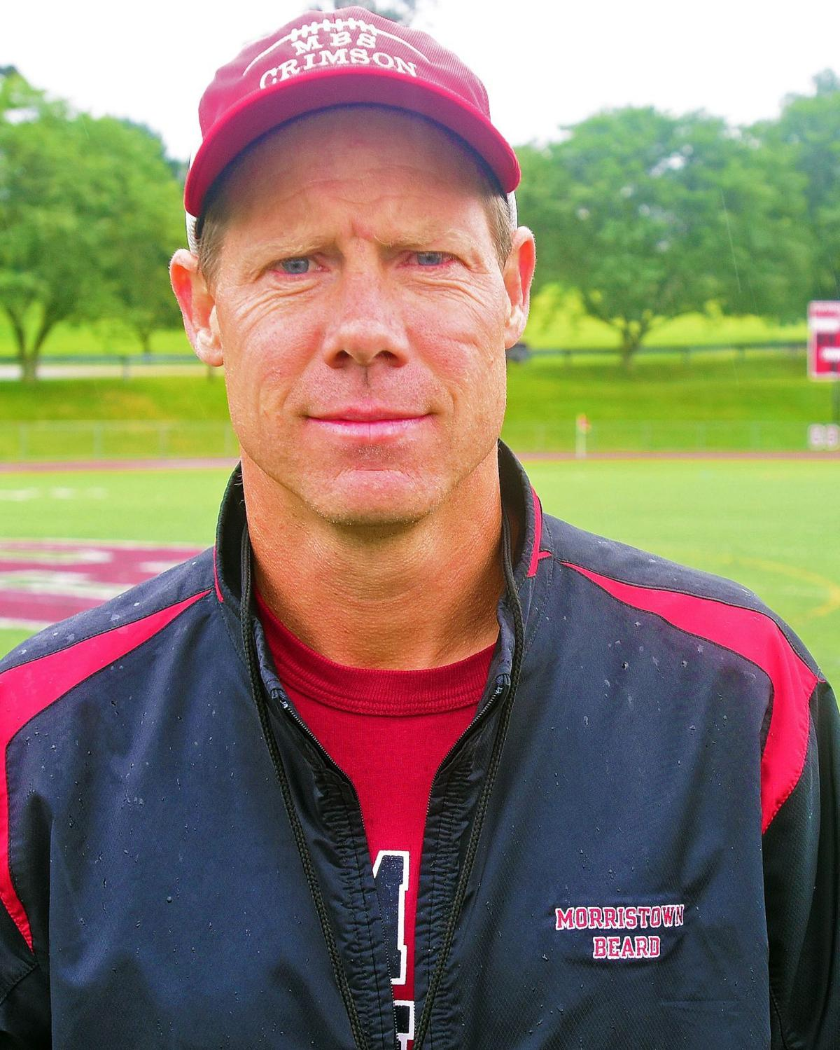 Morristown-Beard football coach Tim Fell