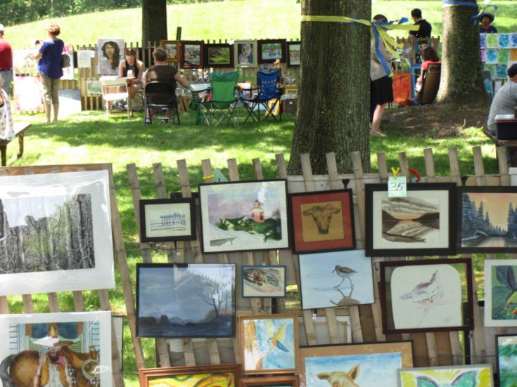 Friends of the library to host outdoor art show, sale on Saturday, June 9