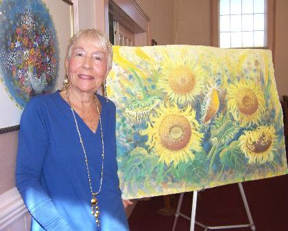 Local artist featured at Trinity gallery