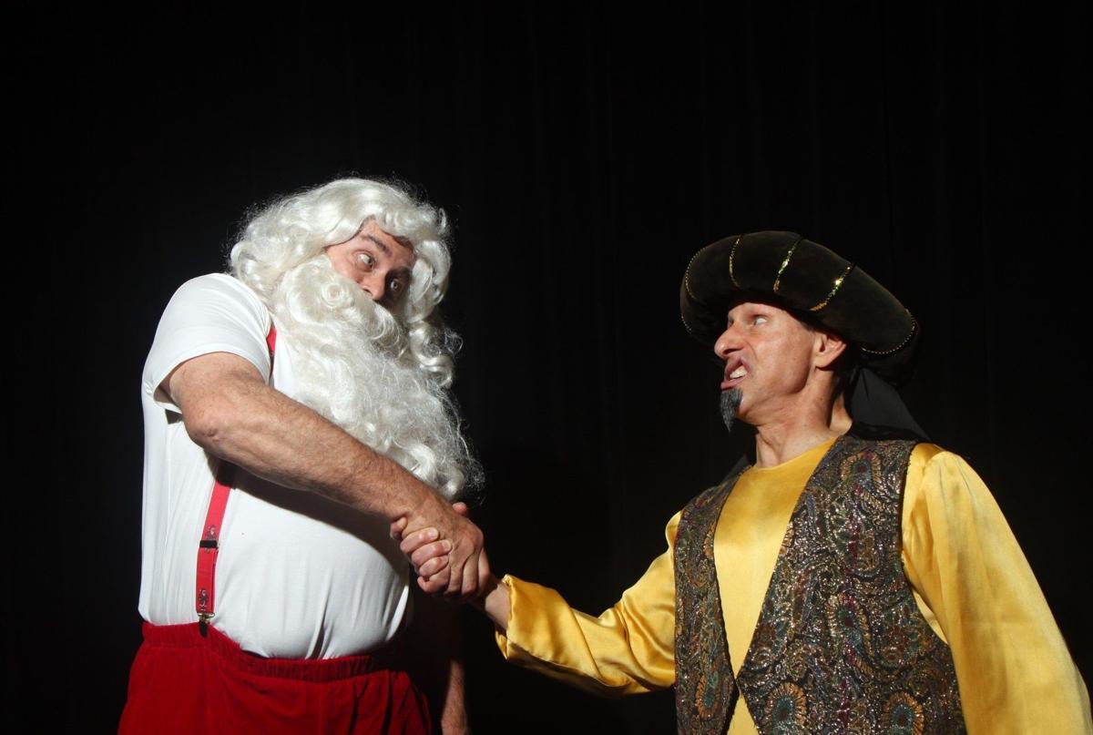 Santa and Ali Baba