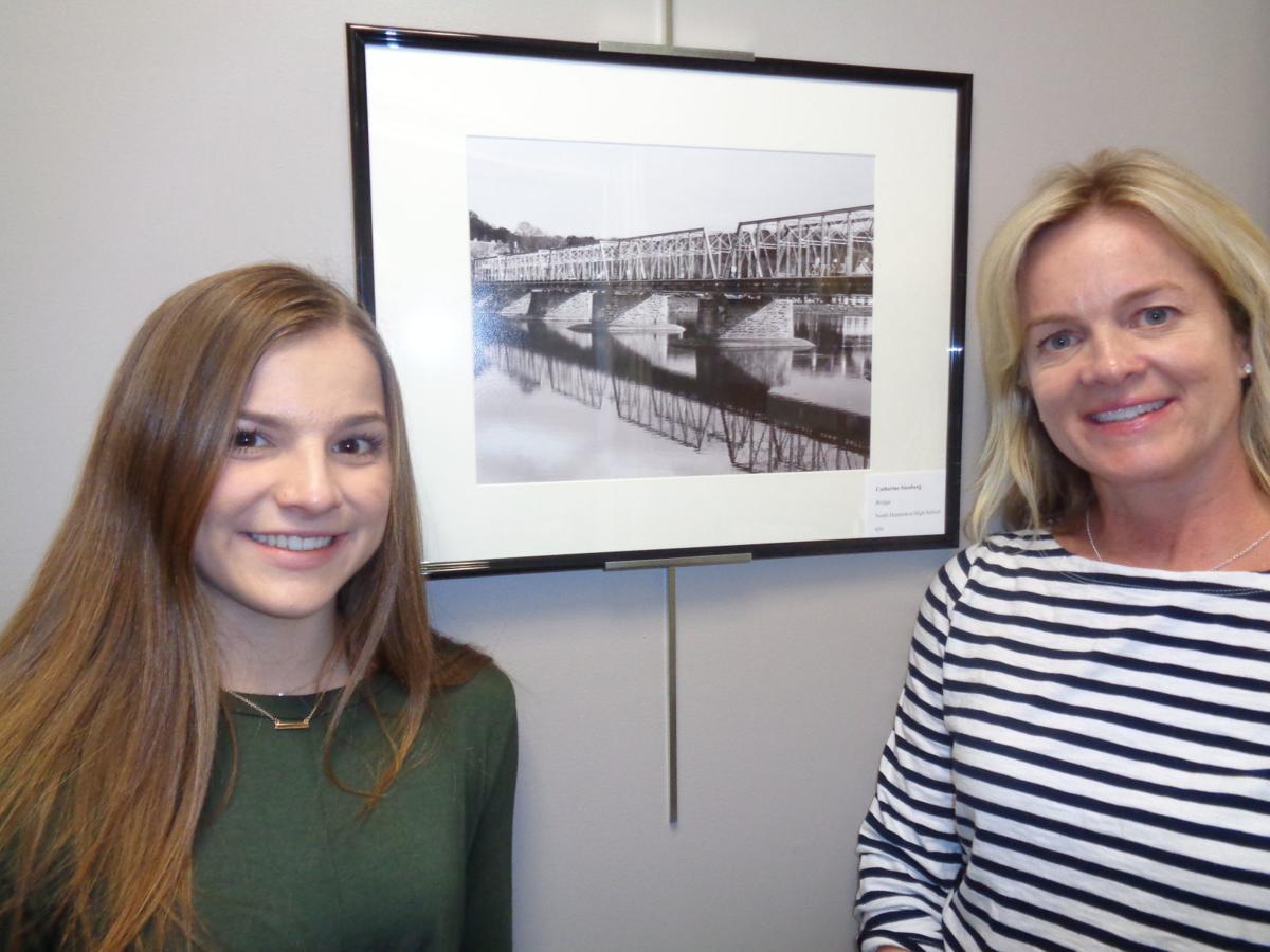 Clinton Township shows off North Hunterdon student artwork in municipal building halls