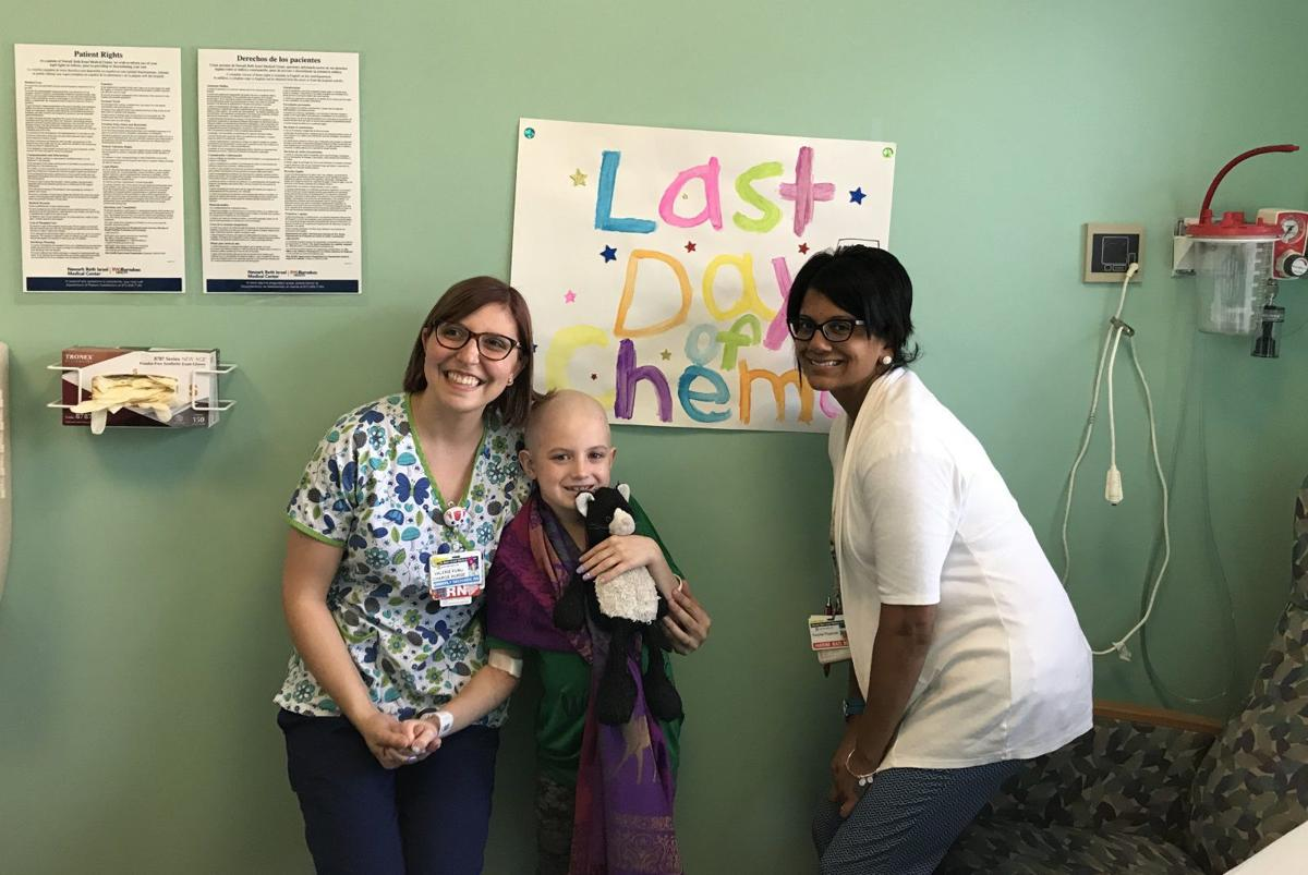 Last Day of Chemo for Grace Eline