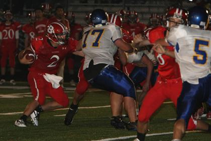 Ridge survives for 3rd victory
