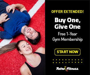 Buy one GIVE one membership for FREE!