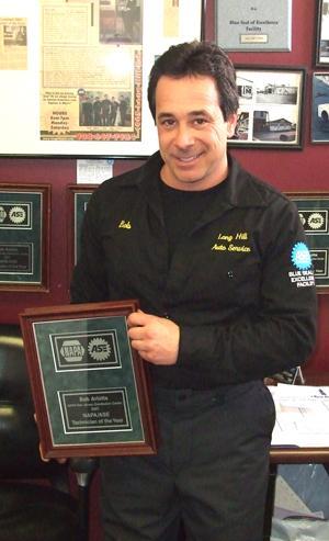 National automotive honors go to Millington businessman