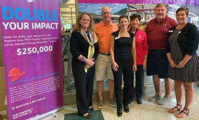 ROTARY GIFT TO YMCA