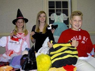 Sharing the Halloween fun
