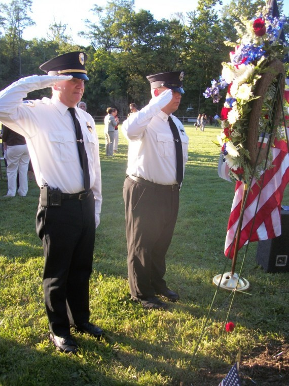 Watchung 9/11 memorial service remembers